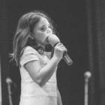 Aurora, 10 anni - piccola allieva di canto Star Voice